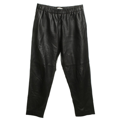 Iro Leather pants in black