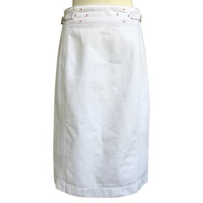 Prada Chino gonna in bianco