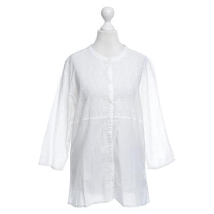Napapijri Witte katoenen blouse