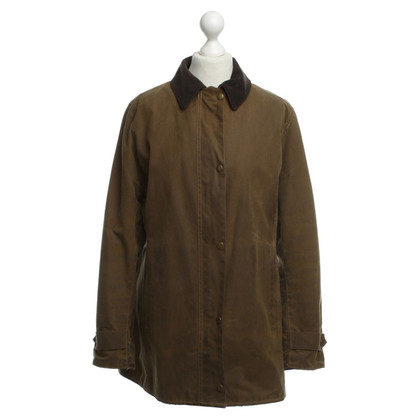 Barbour Outdoorjacke mit Cordkragen