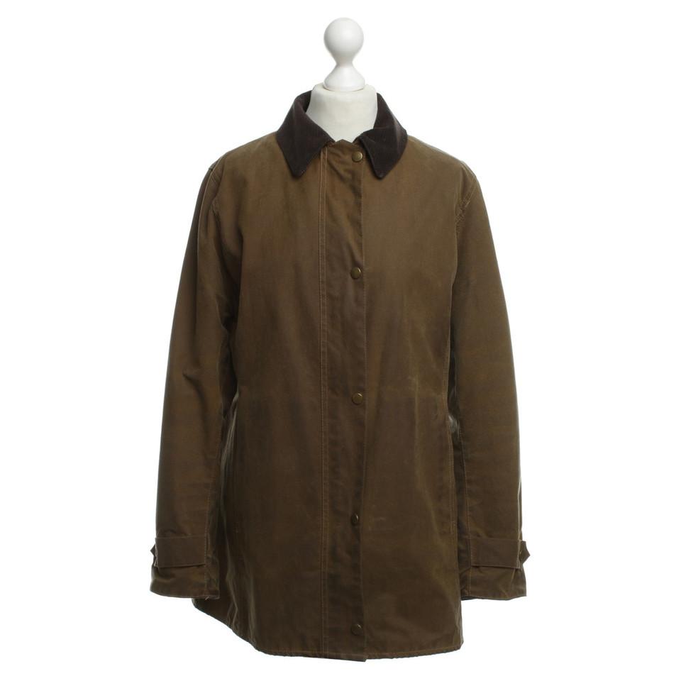 Barbour Outdoor jacket with corduroy collar