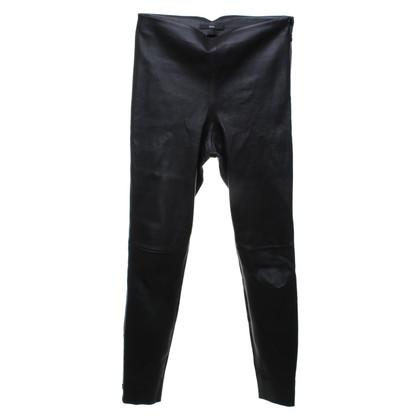 Hugo Boss Narrow leather pants