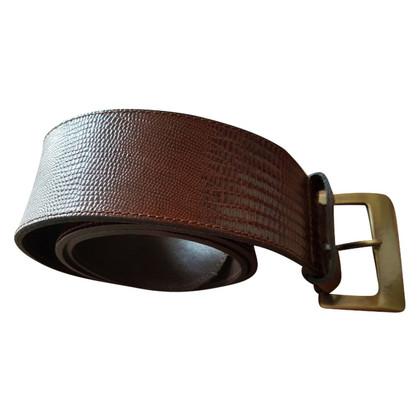 MCM Cintura vintage in pelle