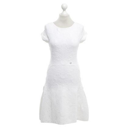 Chanel Strickkleid in Weiß