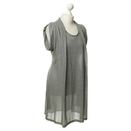 Moschino Love Shirt dress in grey