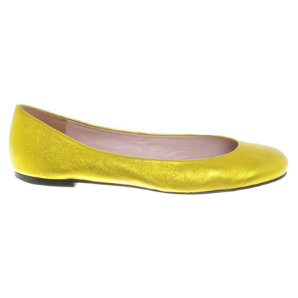 Pretty Ballerinas Ballerine in giallo neon