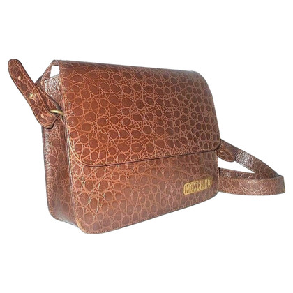 Moschino vintage brown handbag