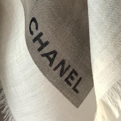 Chanel Kaschmir-Tuch mit Print