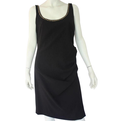 Moschino Cheap and Chic Black dress with studs