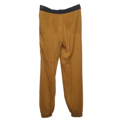 Red Valentino trousers in mustard yellow