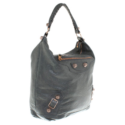 """Balenciaga """"Velo Bag"""" in Grün"""