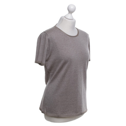 Armani Collezioni T-shirt in Bruin
