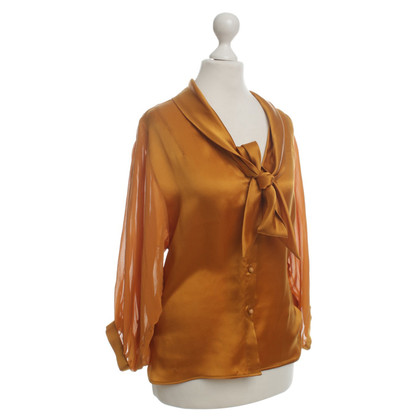 Ermanno Scervino Knop blouse zijde
