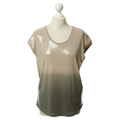 Armani Jeans Sequin top with gradient