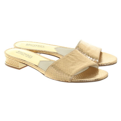 Michael Kors Mules in goud