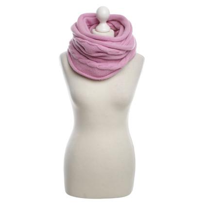 Bruno Manetti sciarpa di cachemire rosa