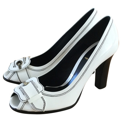 Fendi Patent peep-toes