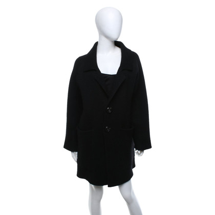 Dsquared2 Cappotto lavorato a maglia in nero