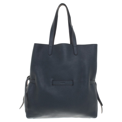 Jil Sander Tote Bag in blauw