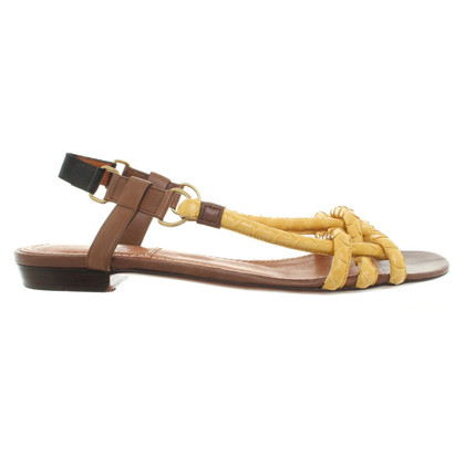 Lanvin Sandals with reptile