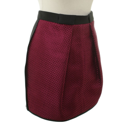 Balenciaga A short skirt in Fuchsia