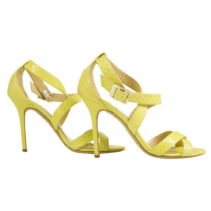 Jimmy Choo sandali giallo