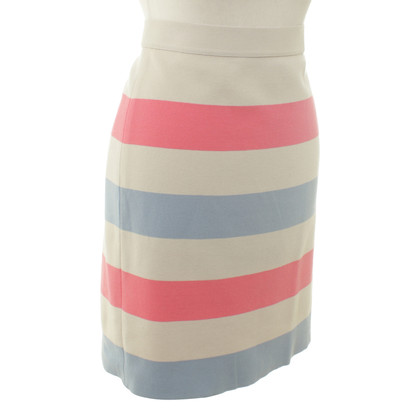 Marc Cain skirt with stripe pattern