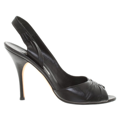 Manolo Blahnik Slingbacks made of leather
