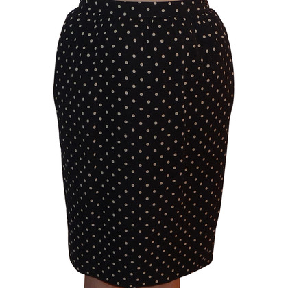 Valentino Silk skirt with polka dots