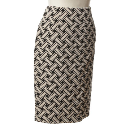 Max Mara skirt with Entrelac pattern