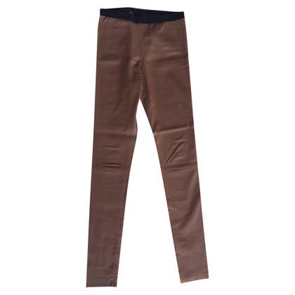 Neil Barrett elegant leather pants by Neil Barret