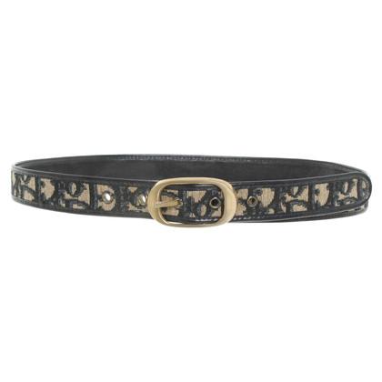 Christian Dior Cintura con motivo logo