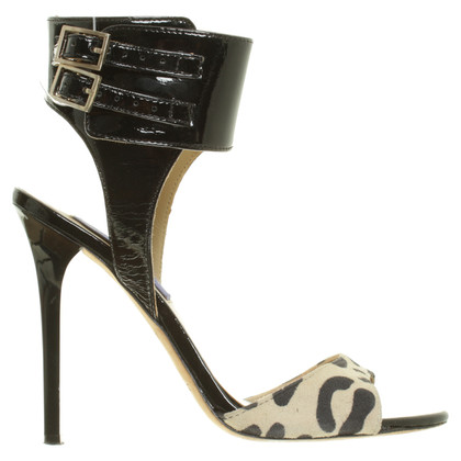 Jimmy Choo for H&M Sandalen met Leo patroon