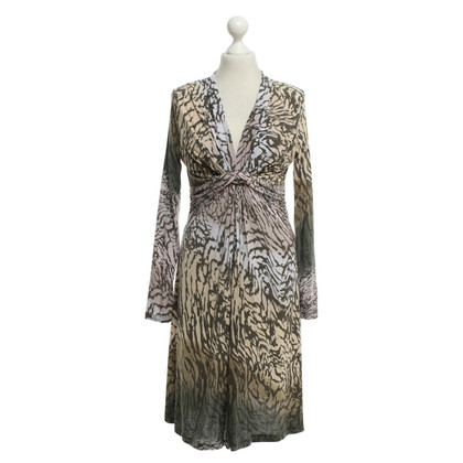 Allude Dress with animal print