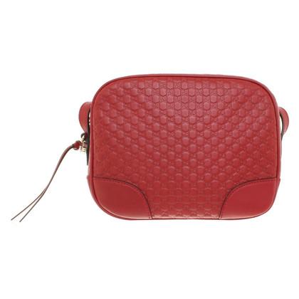 Gucci Umhängetasche mit Guccissima-Muster