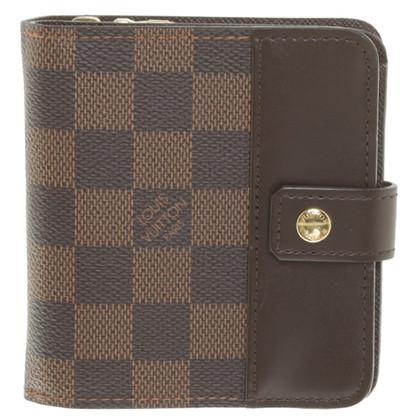 Louis Vuitton Wallet from Damier Ebene Canvas