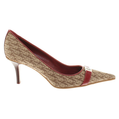 Christian Dior pumps from Monogram Canvas
