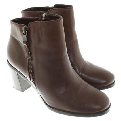 Ralph Lauren Leather ankle boots