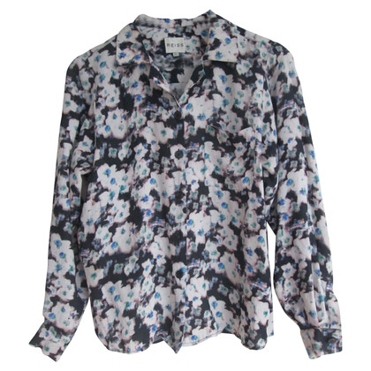 Reiss Bluse mit floralem Muster
