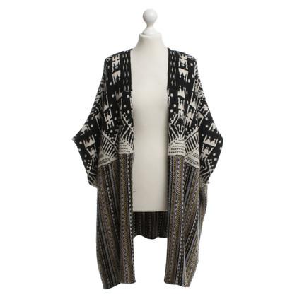 Antik Batik cappotto lungo maglia