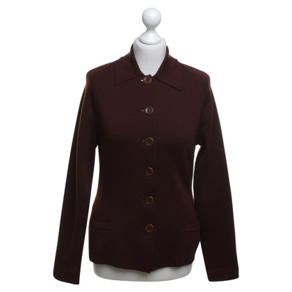 Jean Paul Gaultier Knit Blazer Brown