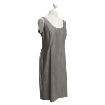René Lezard Schede jurk in grijs