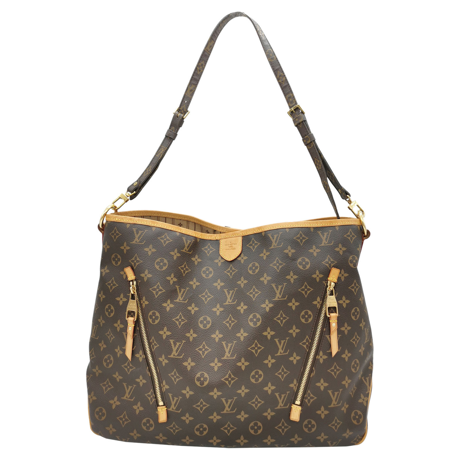 Louis Vuitton Delightful GM20 Canvas in Brown   Second Hand Louis ...