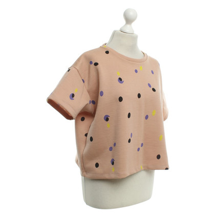 Marni Dotted shirt in nude