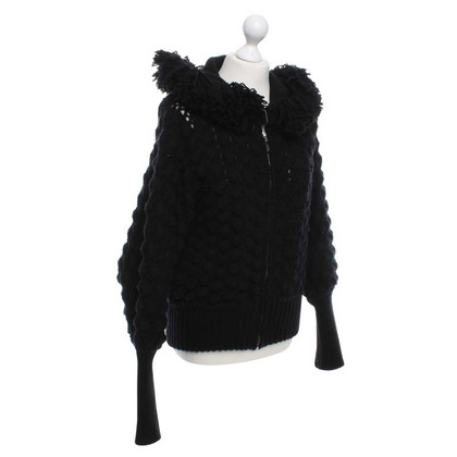 Mugler Cardigan in Black