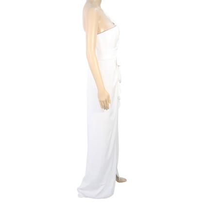 BCBG Max Azria abito Maxi in bianco