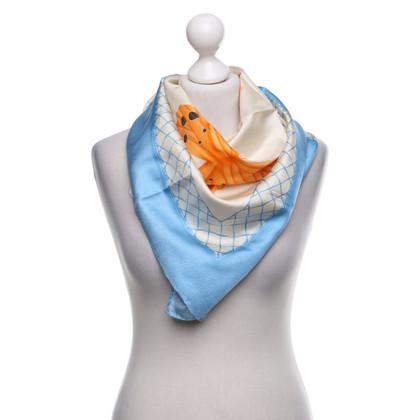 Bulgari Zijden sjaal met motiefprint