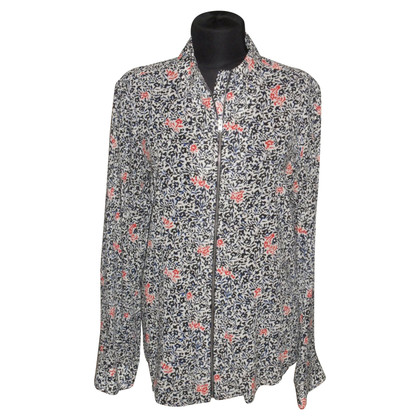 Balenciaga Silk blouse with floral pattern