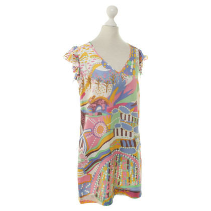See by Chloé Colourful printed dress