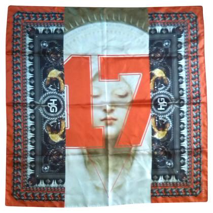 Givenchy Zijden sjaal met Madonna-print